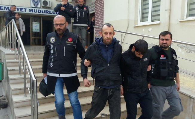Bursa'da vatandaş ihbar etti polis yakaladı!