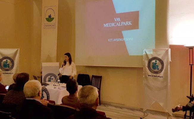 VM Medıcal Park Bursa Hastanesi'nden Sakatlar Derneği'ne seminer