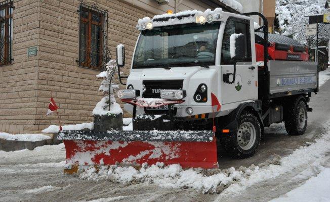 Bursa karla mücadeleye hazır