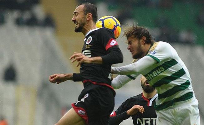 Bursaspor 1 puanla bitirdi!