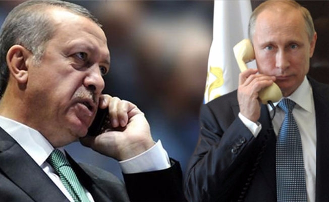 Cumhurbaşkanı Erdoğan ve Putin telefonda Kudüs'ü görüştü