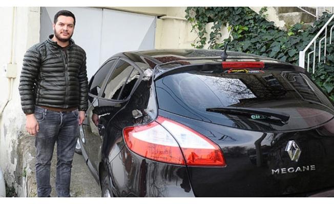 Bursa'da kendi arabasını başkasının sattığını öğrenince...