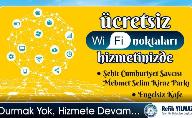 Bursa'nın o ilçesinde ücretsiz fiber internet dönemi başladı