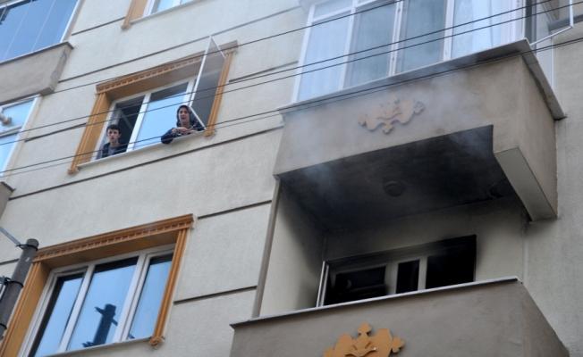 Bursa'da kiracı cinneti! Evi ateşe verdi