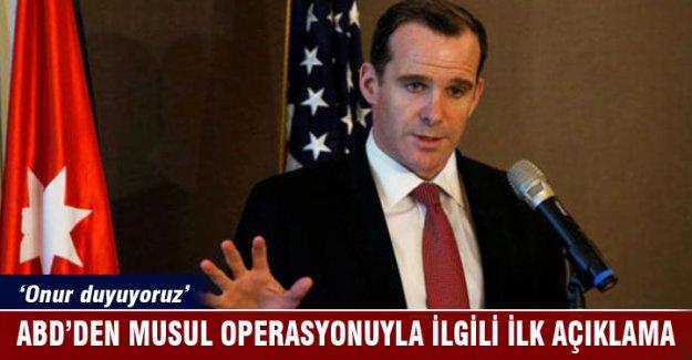 ABD'den Musul operasyonuyla ilgili ilk açıklama
