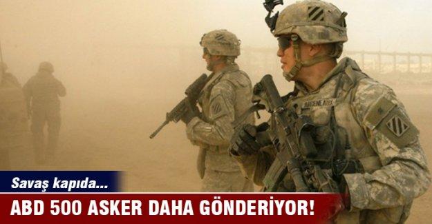 ABD, Musul için 500 asker daha gönderiyor