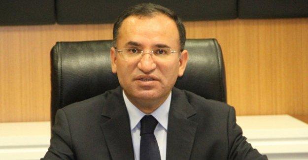 Adalet Bakanı Bozdağ: 25 Ekim'de ABD'ye gidiyorum