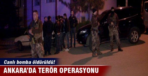 Ankara'da canlı bomba öldürüldü