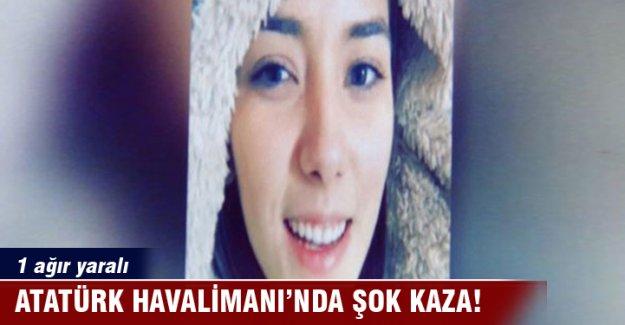 Atatürk Havalimanı'nda şok kaza: 1 ağır yaralı