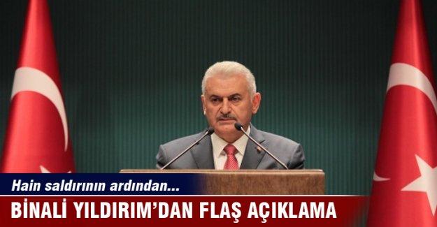 Başbakan Binali Yıldırım'dan flaş açıklamalar