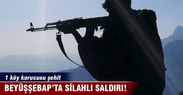 Beytüşşebap'ta silahlı saldırı: 1 köy korucusu şehit