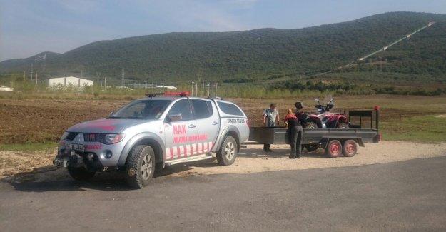 Bursa'da 20 gündür kayıp olan yaşlı adam paramator ile aranıyor
