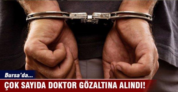 Bursa'da 7 doktora FETÖ'den gözaltı