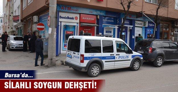 Bursa'da ATM'de soygun dehşeti!