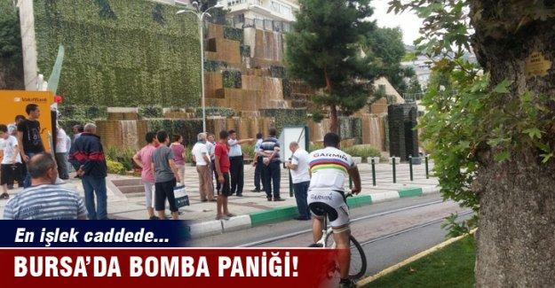 Bursa'da bomba paniği!