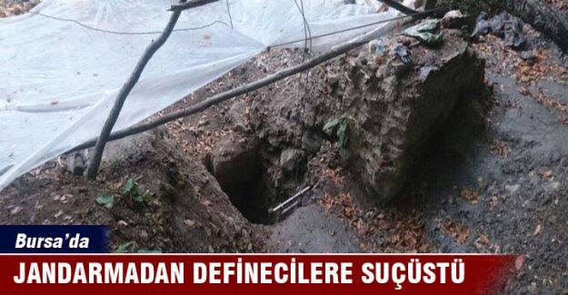 Bursa'da definecilere suçüstü