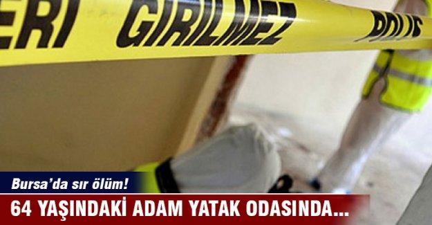 Bursa'da evinde ölü bulundu!
