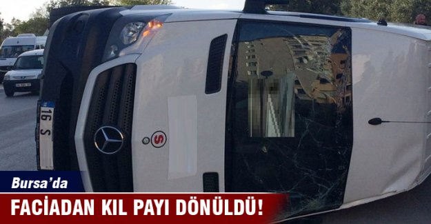 Bursa'da faciadan dönüldü