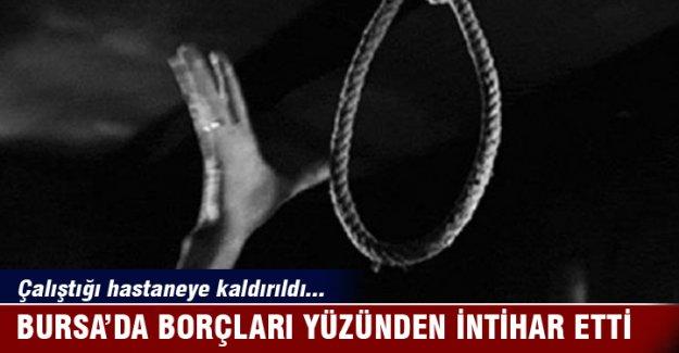 Bursa'da intihar