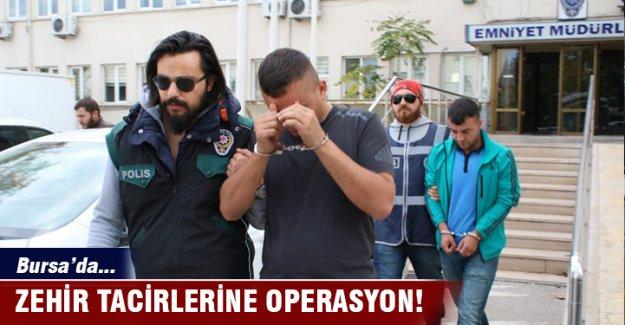 Bursa Terminalinde uyuşturucu operasyonu