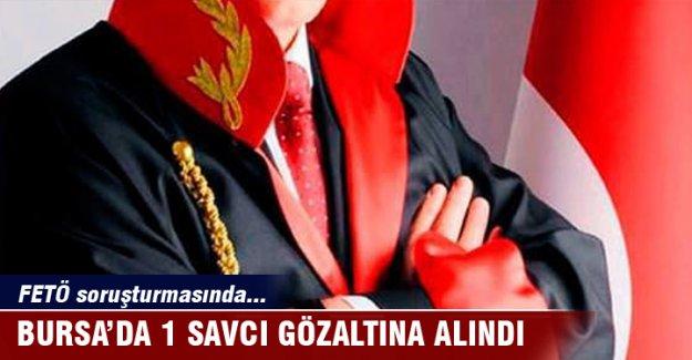 Bursa'da 1 savcı gözaltına alındı
