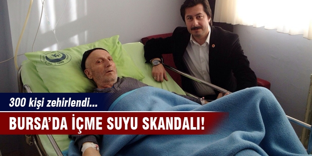 Bursa'da içme suyu rezaleti!