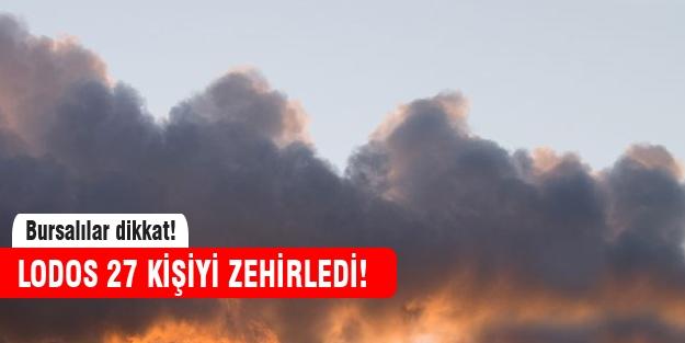 Bursa'yı lodos vurdu!