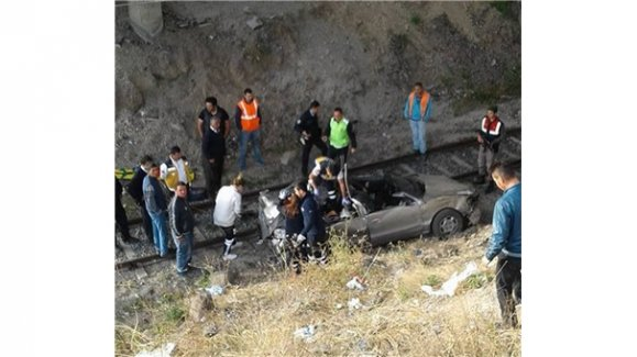 Çankırı'da feci kaza:3 ölü, 1 yaralı
