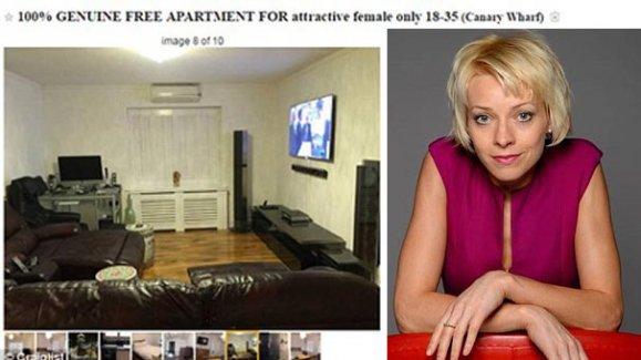 Cinsel ilişki karşılığı kiralık ev