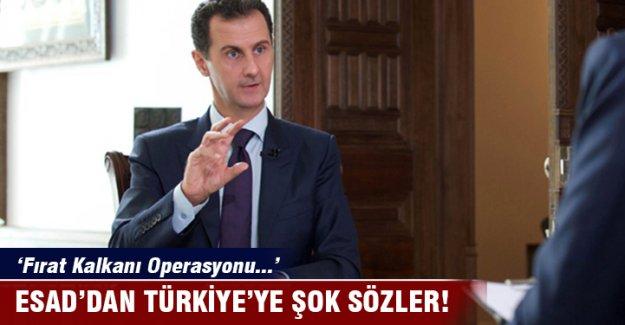 Esad: Fırat Kalkanı Operasyonu 'işgal'