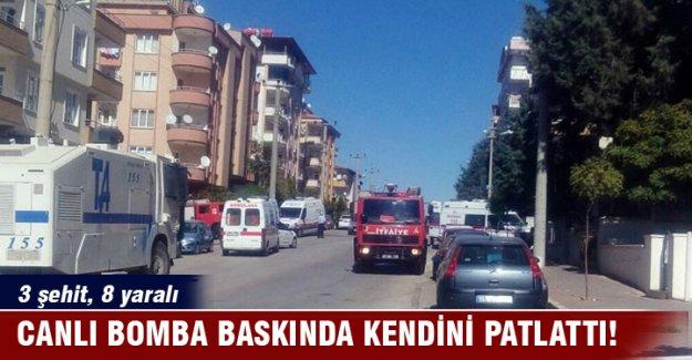 Gaziantep'te hücre evi operasyonunda patlama
