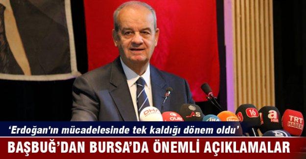 İlker Başbuğ 'Recep Tayyip Erdoğan'ın mücadelesinde tek kaldığı dönem oldu'