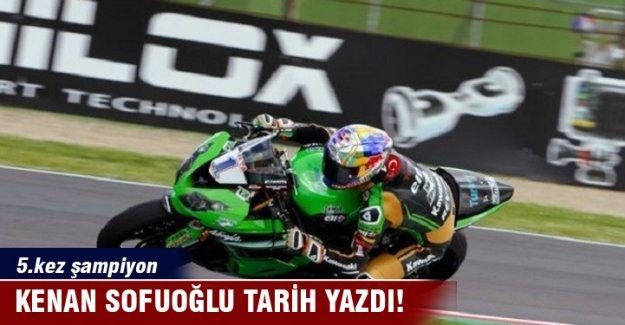 Kenan Sofuoğlu, 5. kez şampiyonluğunu ilan etti
