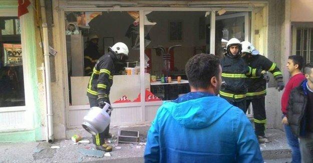 Kütahya'da iş yerinde patlama