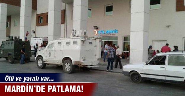 Mardin'de patlama! Ölü ve yaralı var...