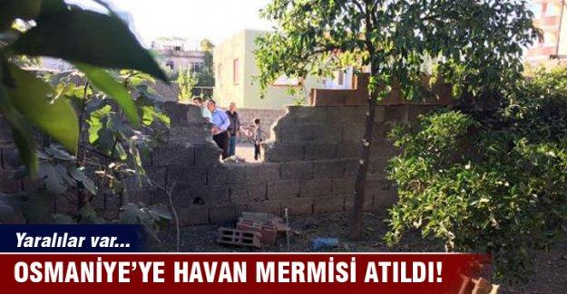 Osmaniye'ye havan mermisi atıldı! Yaralılar var...