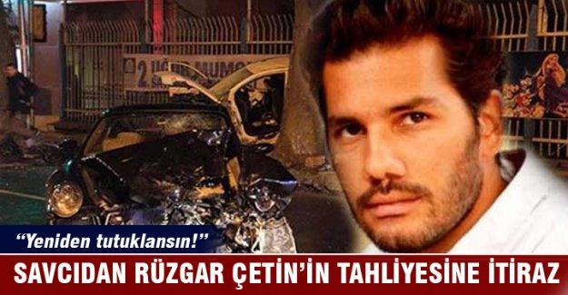 Savcı, Rüzgar Çetin'in tahliyesine itiraz etti: Yeniden tutuklansın