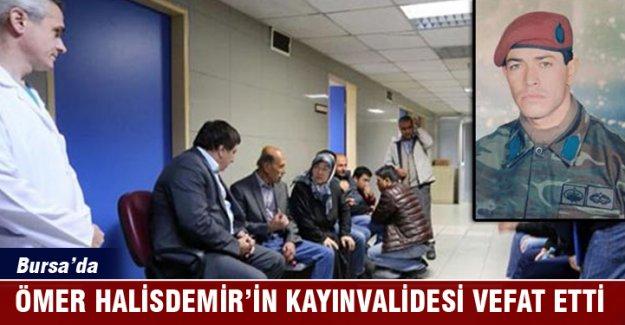 Şehit Astsubay Ömer Halisdemir'in kayınvalidesi vefat etti