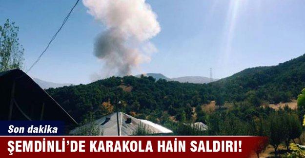 Şemdinli'de karakola saldırı: 9 asker şehit oldu, 11 asker yaralı