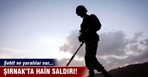 Şırnak'ta hain saldırı! Şehit ve yaralılar var...