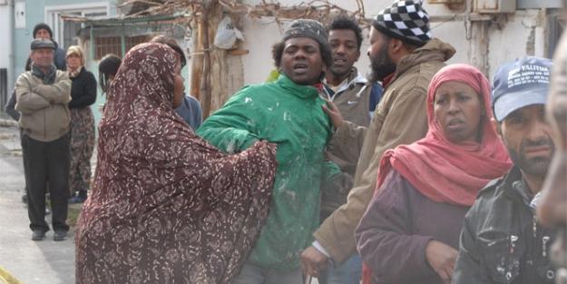 Somalili genç kız yangında can verdi