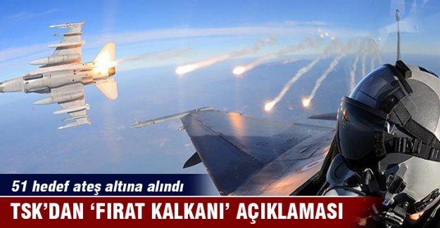 Son dakika: TSK'dan 'Fırat Kalkanı' açıklaması!