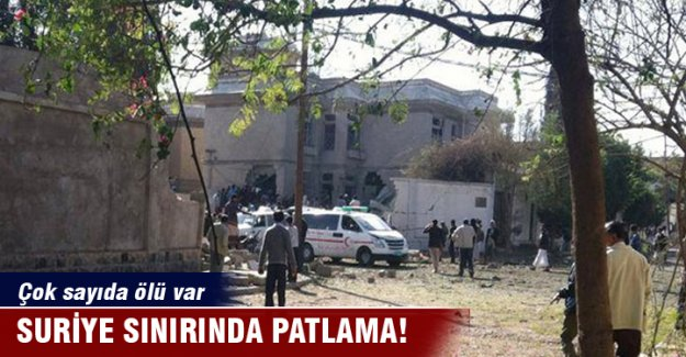 Suriye sınırında bombalı saldırı: 16 ölü