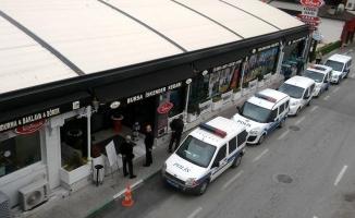 Bursa'da o kafeye OHAL tahliyesi!