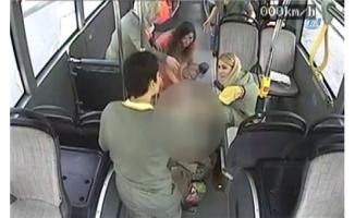 İnanılmaz olay: Otobüste doğum yaptı !