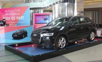 Korupark'ta mutluluk şimdi Audi Q3 hediyeli…