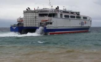 Marmara Denizi'nde fırtına! Bazı İDO seferleri iptal