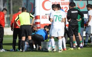 Bursaspor'da büyük şok! Ayağı kırıldı!