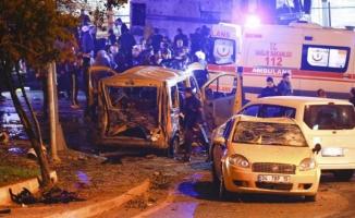 İstanbul'da bombalı saldırı! Şehit ve yaralılar var!