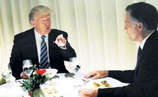 Trump'la mum ışığında yemek 1 milyon dolar!